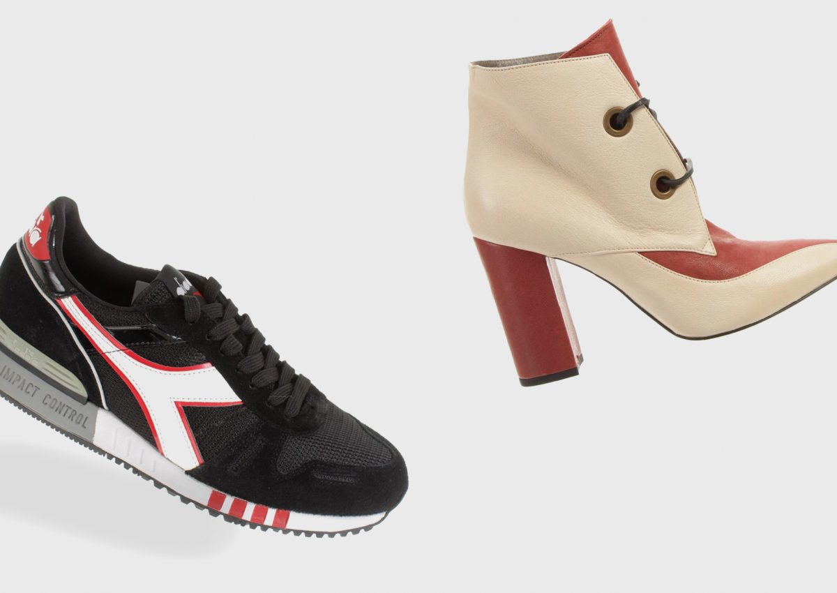 Shoes for the transitional season