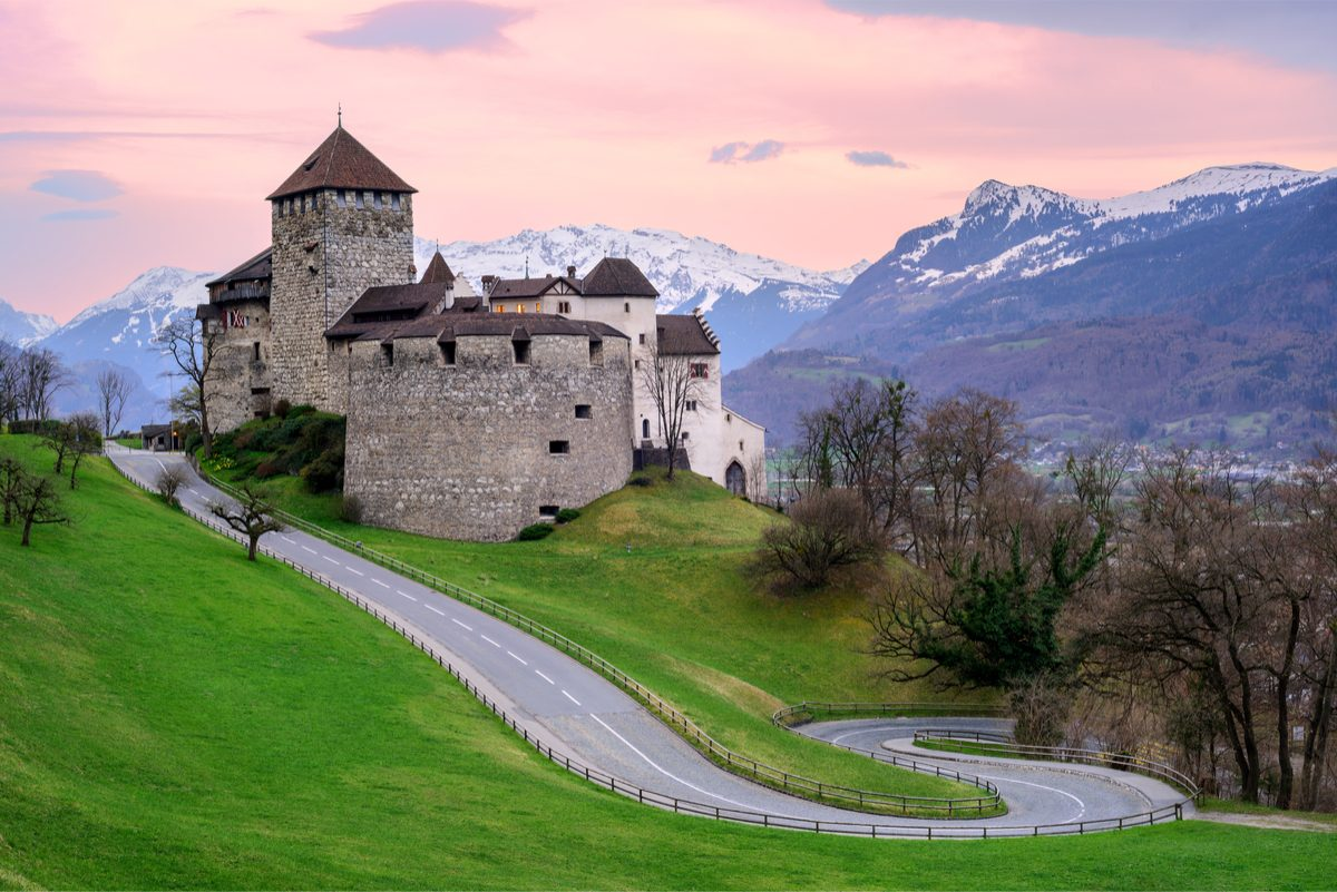 Liechtenstein – visiting a country without an airport