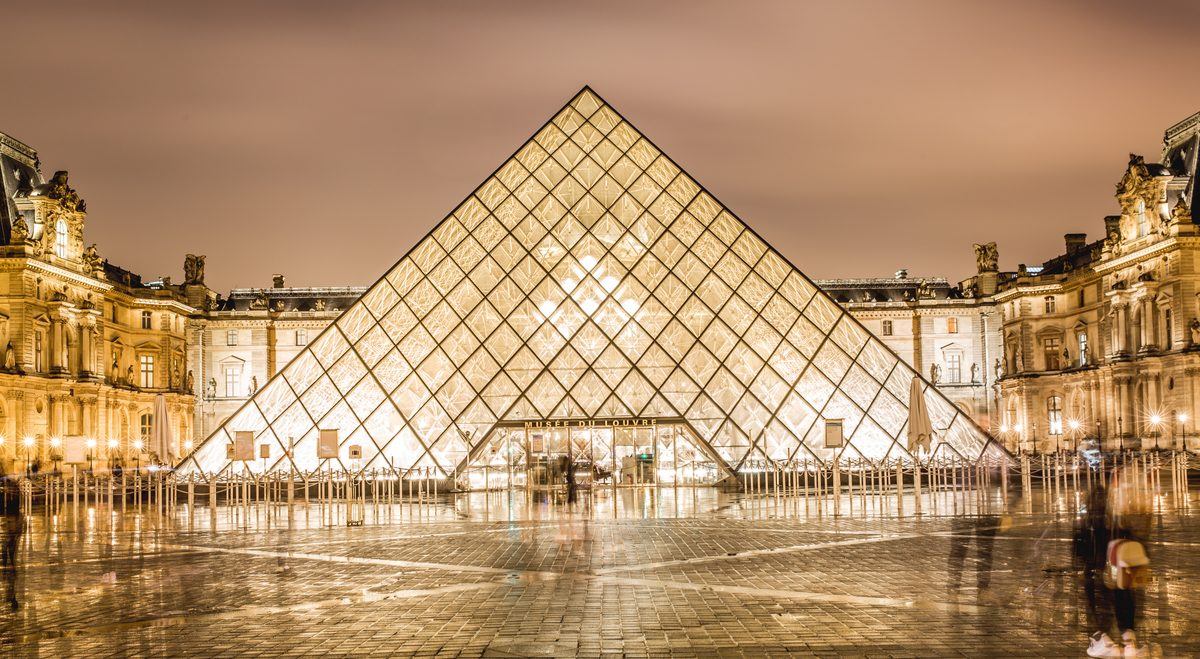 30 years pyramide du Louvre