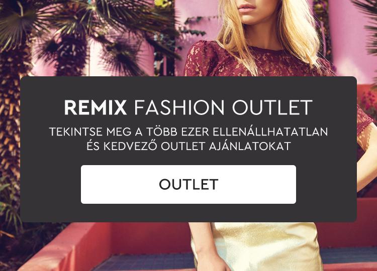 Használt és outlet ruhadarabok Remixből