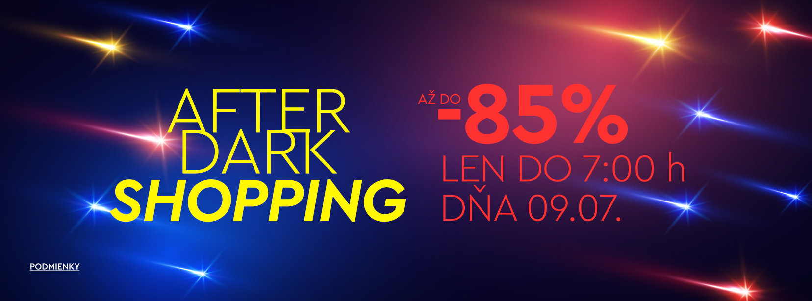 """AFTER DARK SHOPPING