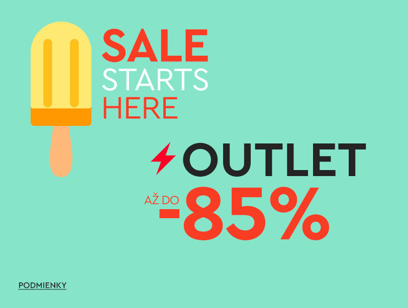 Outlet až do -85%